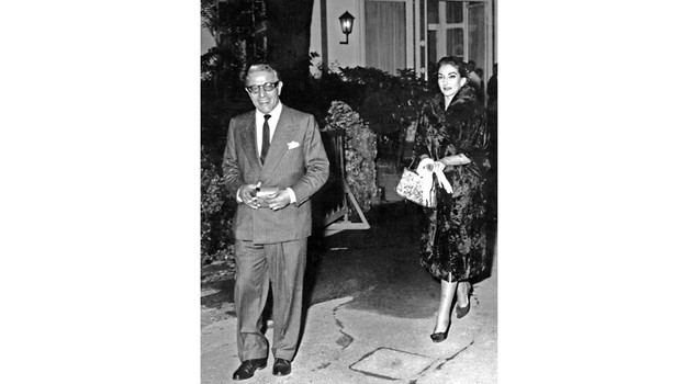 - Onassis Callas Milan, ITALY: TO GO WITH AFP STORY :
