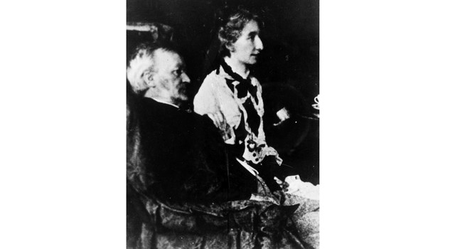 Wagner e Cosima German composer Richard Wagner (1813 - 1883) with his wife Cosima. (Photo by Hulton Archive/Getty Images)