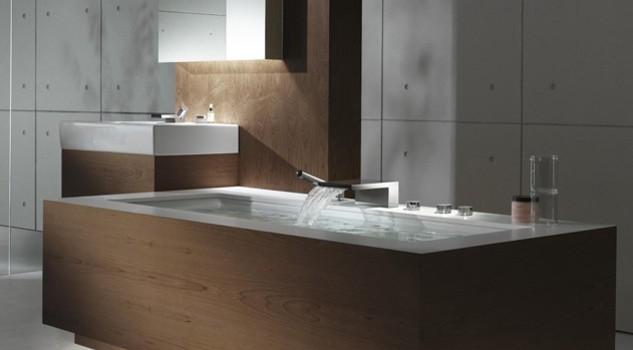 La rivincita del bagno, ormai importante quanto un salone. la ...