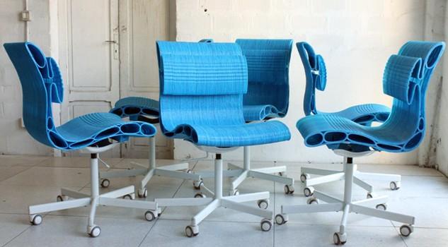 Dalle sedie stampate in 3d al marmo liquido le case si for Sedie design 3d