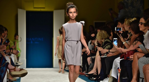 Immmagine Bimbo children's fashion event: Lamantine