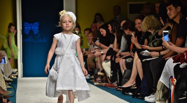 Immmagine Bimbo children's fashion event: Piccola Ludo