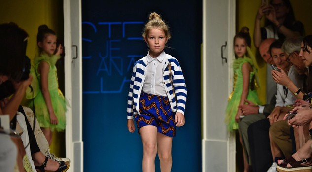Immmagine Bimbo children's fashion event: Stella Jean