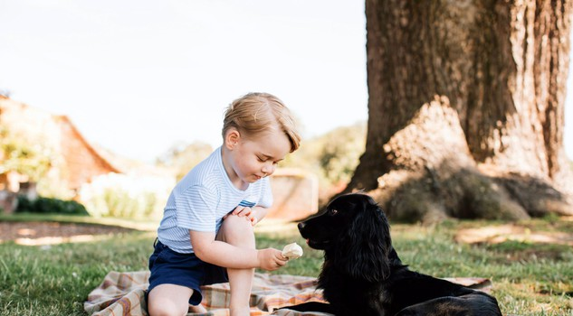 Prince George's third birthday [ARCHIVE MATERIAL 20160722 ]