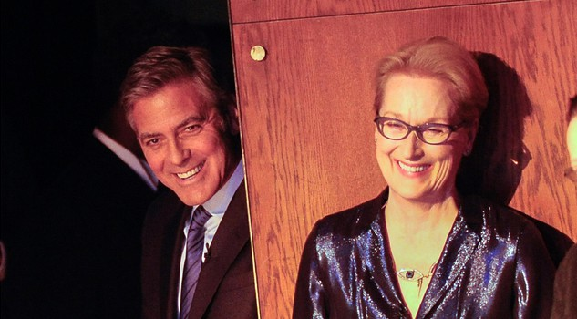 George Clooney  con Meryl Streep in uno show 2015