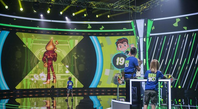 Tv: Fenomeno Ben 10, da cartoon a game show