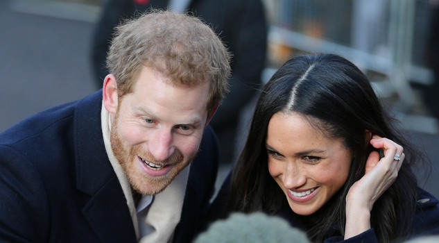 Britain's Prince Harry and US actress Meghan Markle public engagement