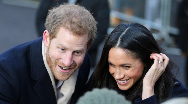 Prince Harry and Meghan Markle first official royal engagement