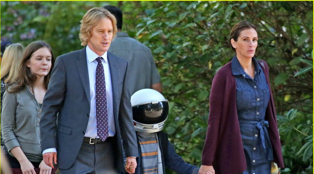 Una scena di Wonder con Julia Roberts, Owen Wilson e  Jacob Tremblay © Photo by Dale Robinette C Lionsgate 2016, da IMDB