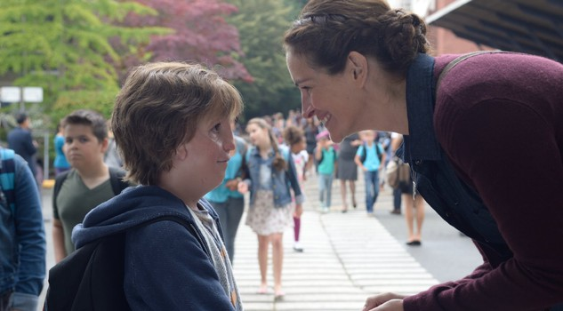 Una scena di Wonder con Julia Roberts e  Jacob Tremblay © Photo by Dale Robinette C Lionsgate 2016, da IMDB