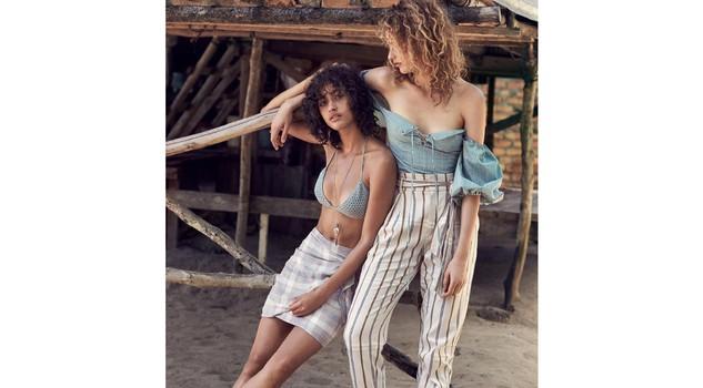Costumi da bagno e beachwear in nuova campagna Mango - Modelle ...