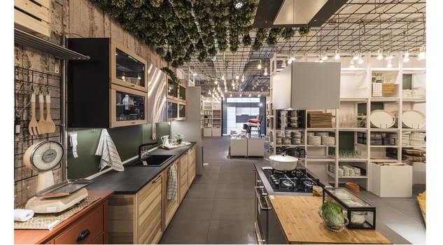 Roma caput mundi Ikea del progetto pop up store cucine - Design ...
