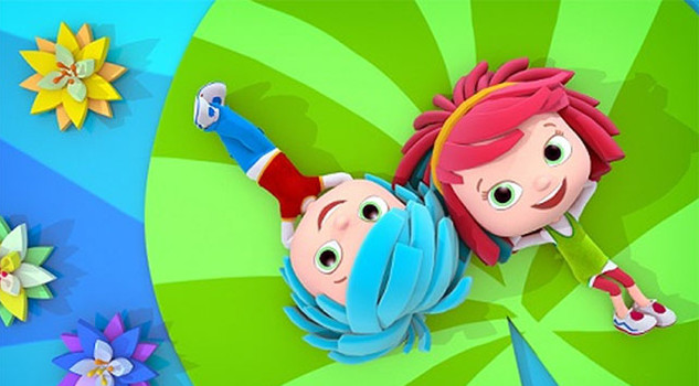 Cartoni animati i gemellini yo conquistano piccoli