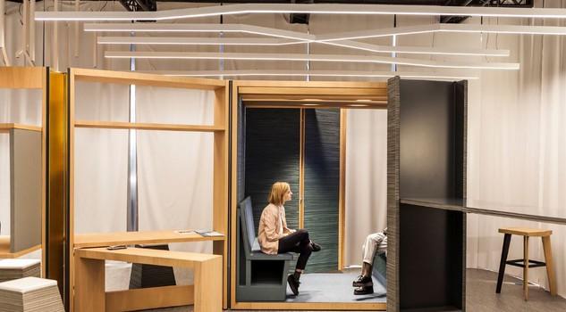 Salone mobile mezzo mondo lavora in uffici made in italy for Salone mobile ufficio
