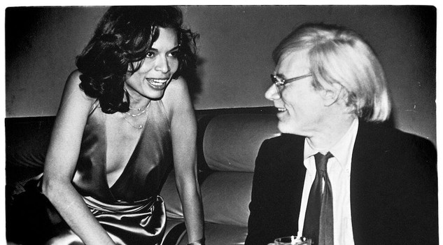 Andy Warhol and Bianca Jagger credit: Anton Perich