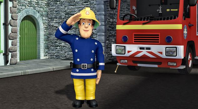 Il compagno di giochi baby george sam pompiere