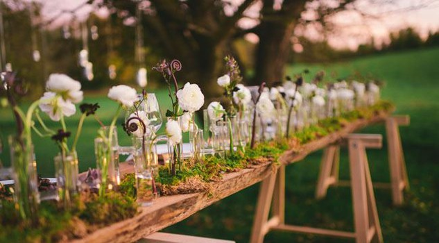 Matrimonio Tema Green : Green conventional wedding nozze sono eleganti etiche