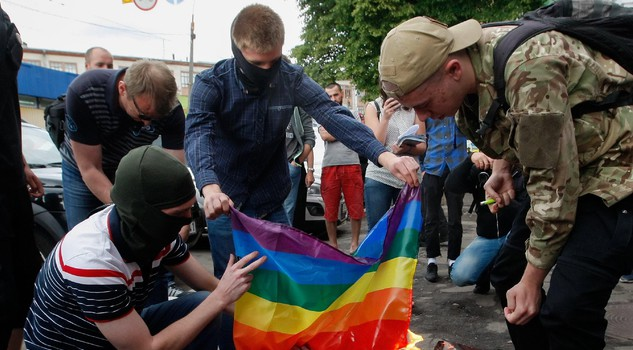 'Kiev Pride 2017' gay parade in Kiev