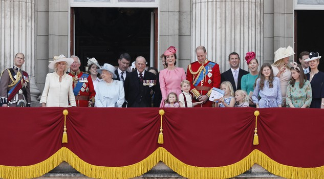 Elizabeth II,Prince Charles Kate,the Duchess of Cambridge,Pr