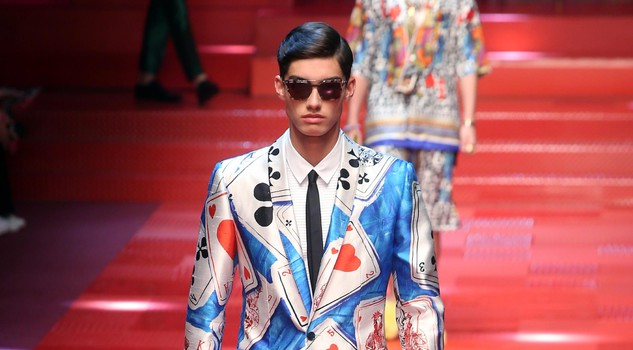 Dolce&Gabbana - Runway - Milan Fashion Week Men's Collection Spring/Summer 2018