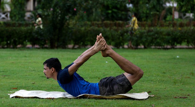 International Yoga Day in Mumbai