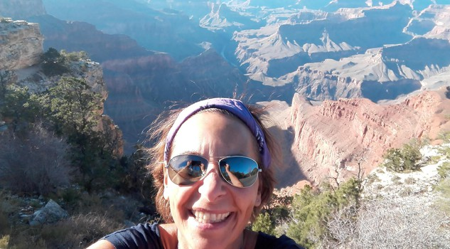 Carla Diamanti : Grand Canyon, foto di Nicoletta Diamanti