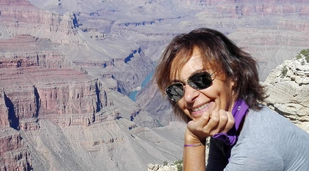 Carla Diamanti : Grand Canyon, foto Nicoletta Diamanti