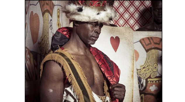 The Cal 2018 - DJIMON HOUNSOU- Backstage The Cal Shoot by Tim Walker