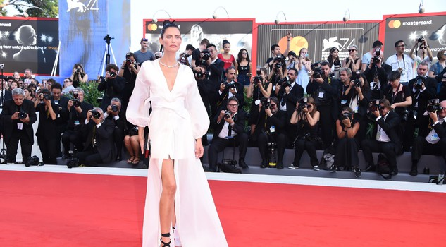 Red carpet a Venezia con Bianca Balti