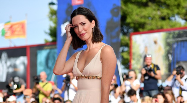 Member of the 'Venezia 74' jury British-American actress Rebecca Hall arrives for the premiere of 'First Reformed' at the 74th Venice Film Festival in Venice