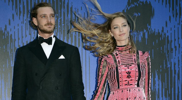 Italy Venice Film Festival 2017 Pierre Casiraghi e Beatrice Borromeo arrive for 'The Franca Sozzani Award' during the 74th Venice Film Festival in Venice, Italy, 01 September 2017