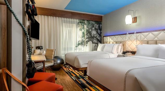 Even Hotel, la catena di alberghi, 25 per ora solo in Nord America, tutta orientata al wellness dalla colazione alla camera con fitness incluso.