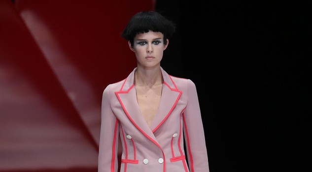 Moda: Milan fashion week; Giorgio Armani