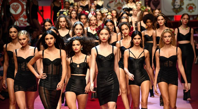 Moda: Milan fashion week; Dolce&Gabbana