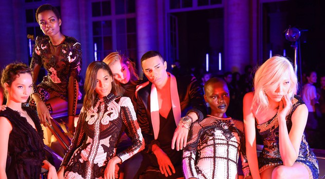L'Oreal Paris - Balmain a Parigi l'evento che incrocia fashion e beauty
