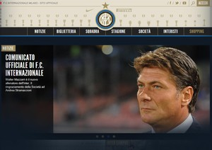 Inter: 'Out' Strama, 'in' Mazzarri