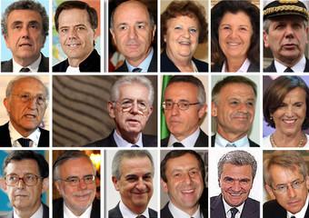 La squadra dei ministri