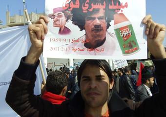 Proteste contro Gheddafi