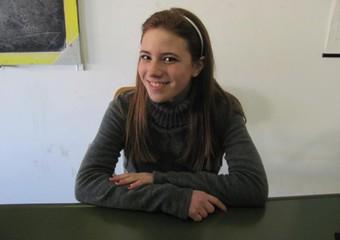 Melissa Bassi, la ragazza morta per l'esplosione. Foto Brindisireport