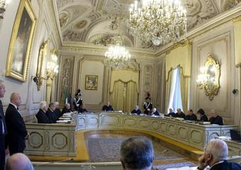 Un'udienza pubblica della Corte Costituzionale