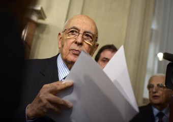 Napolitano in conferenza stampa