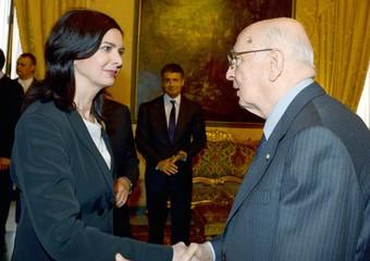 Laura Boldrini e Giorgio Napolitano