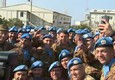 Renzi in visita a base militare italiana in Libano © ANSA