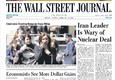 The wall street Journal © Ansa