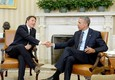 President Obama meets with Italian PM Matteo Renzi - DC © Ansa