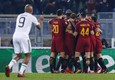 Soccer: Champions League; Roma-Qarabag ©