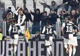 Juventus Cristiano Ronaldo jubilates after scoring the goal (1-0) during the Italian Serie A soccer match Juventus FC vs Parma Calcio at the Allianz  stadium in Turin, Italy, 19 January 2020 ANSA/ ALESSANDRO DI MARCO (ANSA)