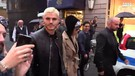 Icardi e Wanda, shopping in via Montenapoleone(ANSA)
