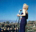 Marilyn Monroe - Archive photo, collection Ted Stampfer (ANSA)