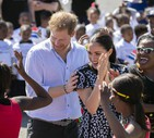 Duke and Duchess of Sussex Royal tour of South Africa (ANSA)